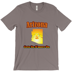 Arizona Gets Its S'more On! Novelty Short Sleeve T-Shirt