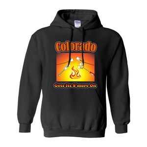 Colorado Gets Its S'more On! Novelty Hoodies (No-Zip/Pullover) - CampWildRide.com