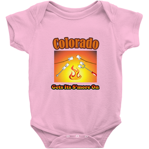 Colorado Gets Its S'more On! Novelty Infant One-Piece Baby Bodysuit