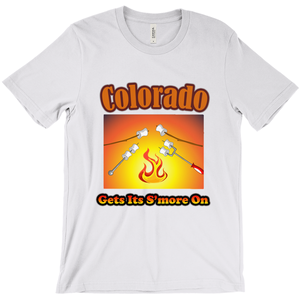 Colorado Gets Its S'more On! Novelty Short Sleeve T-Shirt