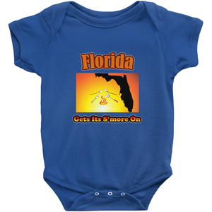 Florida Gets Its S'more On! Novelty Infant One-Piece Baby Bodysuit