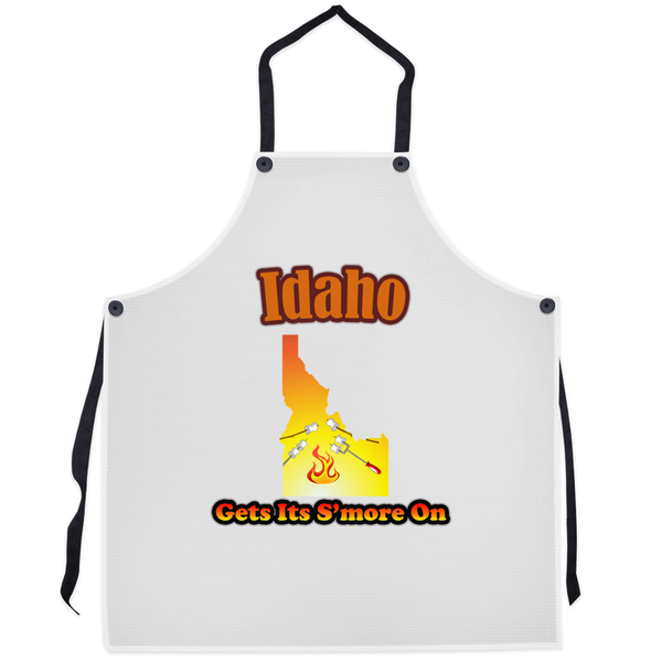 Idaho Gets Its S'more On! Novelty Funny Apron - CampWildRide.com
