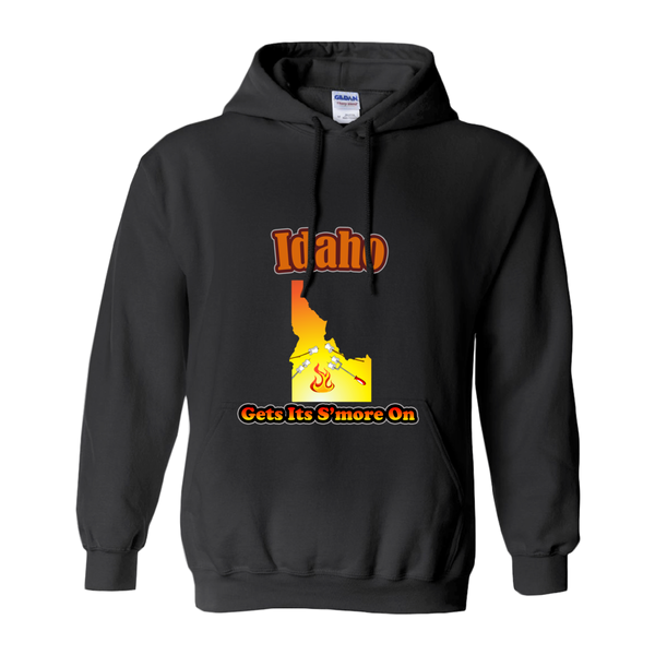 Idaho Gets Its S'more On! Novelty Hoodies (No-Zip/Pullover)