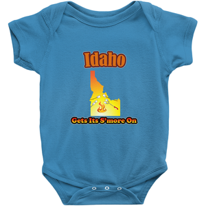 Idaho Gets Its S'more On! Novelty Infant One-Piece Baby Bodysuit