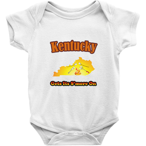 Kentucky Gets Its S'more On! Novelty Infant One-Piece Baby Bodysuit