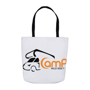 Camp Wild Ride Logo! Novelty Funny Tote Bag Reusable - CampWildRide.com