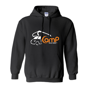 Camp Wild Ride Logo! Novelty Hoodies (No-Zip/Pullover) - CampWildRide.com