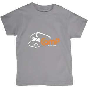 Camp Wild Ride Logo! Novelty Short Sleeve Youth T-Shirt - CampWildRide.com