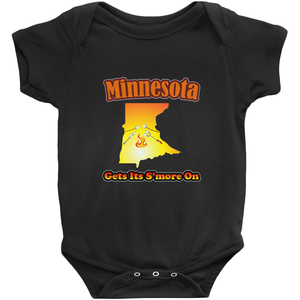 Minnesota Gets Its S'more On! Novelty Infant One-Piece Baby Bodysuit