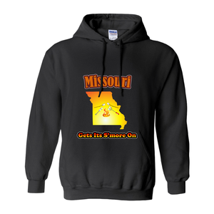 Missouri Gets Its S'more On! Novelty Hoodies (No-Zip/Pullover) - CampWildRide.com