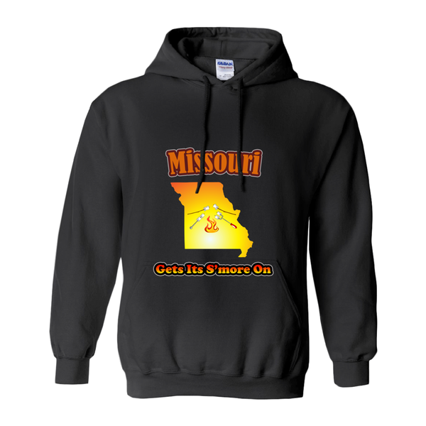 Missouri Gets Its S'more On! Novelty Hoodies (No-Zip/Pullover)