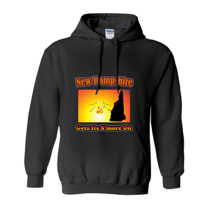 New Hampshire Gets Its S'more On! Novelty Hoodies (No-Zip/Pullover) - CampWildRide.com