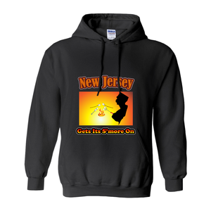 New Jersey Gets Its S'more On! Novelty Hoodies (No-Zip/Pullover)