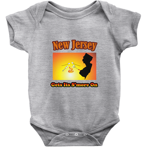 New Jersey Gets Its S'more On! Novelty Infant One-Piece Baby Bodysuit