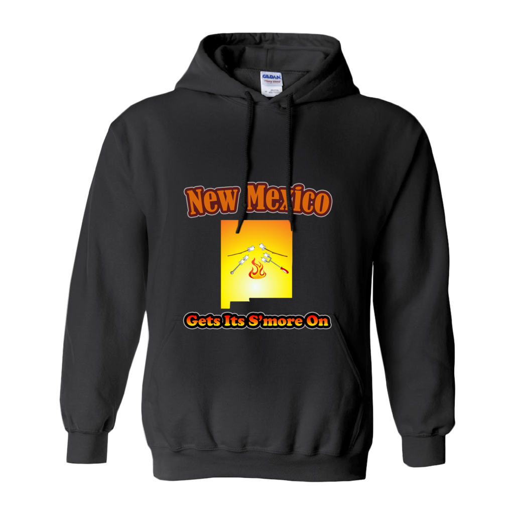 New Mexico Gets Its S'more On! Novelty Hoodies (No-Zip/Pullover) - CampWildRide.com
