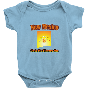 New Mexico Gets Its S'more On! Novelty Infant One-Piece Baby Bodysuit - CampWildRide.com