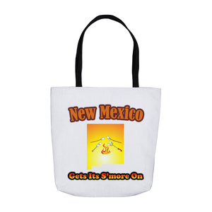 New Mexico Gets Its S'more On! Novelty Funny Tote Bag Reusable - CampWildRide.com