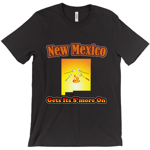 New Mexico Gets Its S'more On! Novelty Short Sleeve T-Shirt - CampWildRide.com