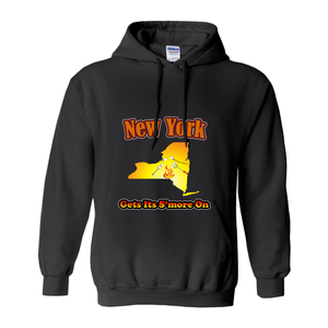 New York Gets Its S'more On! Novelty Hoodies (No-Zip/Pullover)