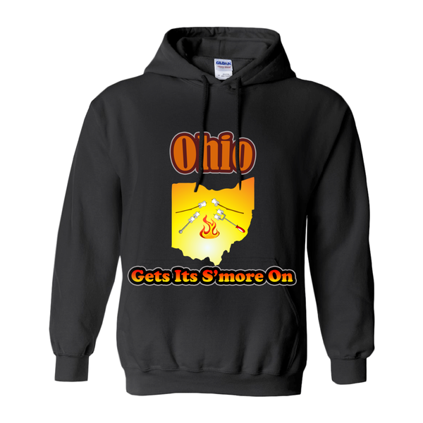 Ohio Gets Its S'more On! Novelty Hoodies (No-Zip/Pullover)