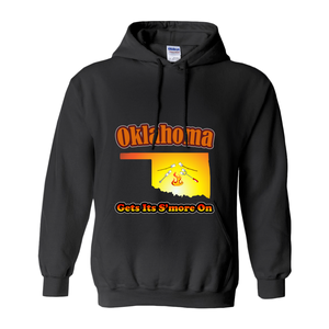 Oklahoma Gets Its S'more On! Novelty Hoodies (No-Zip/Pullover) - CampWildRide.com