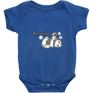 Best Friend Forever-4 BFF's Novelty Infant One-Piece Baby Bodysuit
