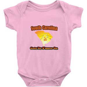 South Carolina Gets Its S'more On! Novelty Infant One-Piece Baby Bodysuit