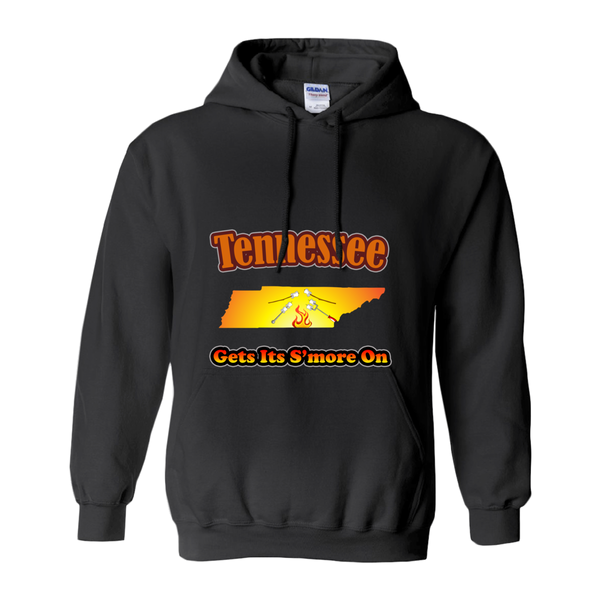 Tennessee Gets Its S'more On! Novelty Hoodies (No-Zip/Pullover) - CampWildRide.com