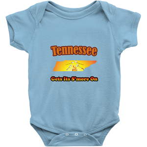 Tennessee Gets Its S'more On! Novelty Infant One-Piece Baby Bodysuit