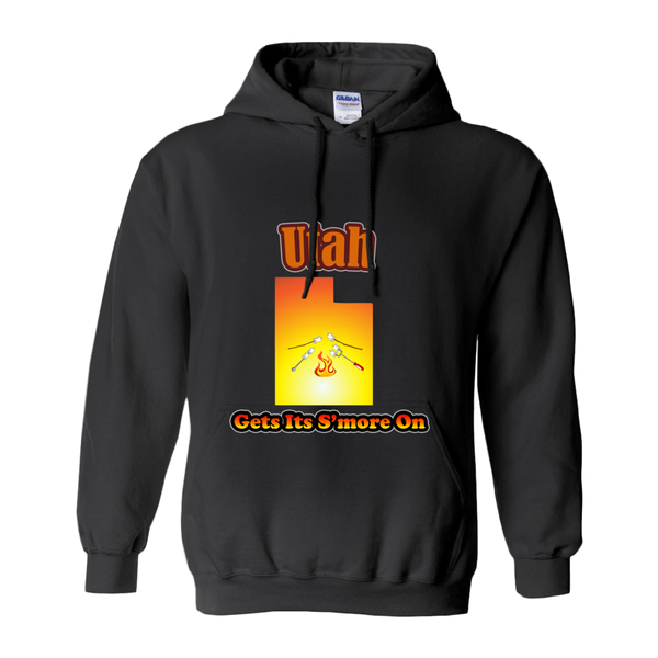 Utah Gets Its S'more On! Novelty Hoodies (No-Zip/Pullover)