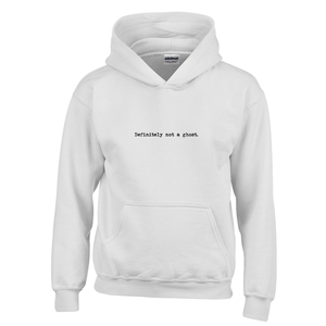 Definitely not a ghost! Novelty Youth Hoodies (No-Zip/Pullover)