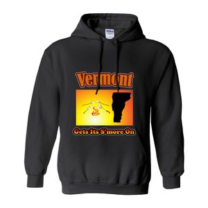 Vermont Gets Its S'more On! Novelty Hoodies (No-Zip/Pullover)