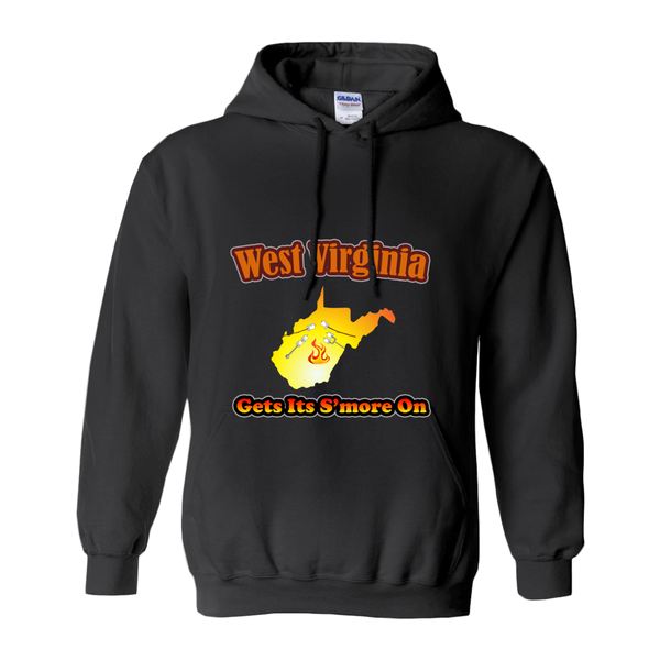 West Virginia Gets Its S'more On! Novelty Hoodies (No-Zip/Pullover)