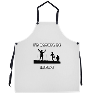 I'd Rather Be Hiking! Novelty Funny Apron - CampWildRide.com