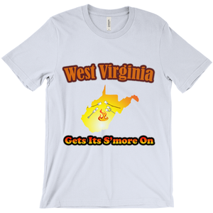 West Virginia Gets Its S'more On! Novelty Short Sleeve T-Shirt - CampWildRide.com