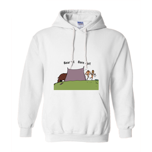 Bear In! Bare Out! Novelty Hoodies (No-Zip/Pullover)