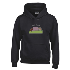 Bear In! Bare Out! Novelty Youth Hoodies (No-Zip/Pullover) - CampWildRide.com