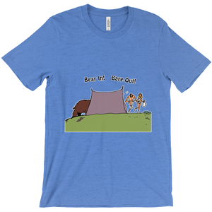 Bear In! Bare Out! Novelty Short Sleeve T-Shirt - CampWildRide.com