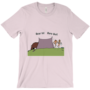 Bear In! Bare Out! Novelty Short Sleeve T-Shirt