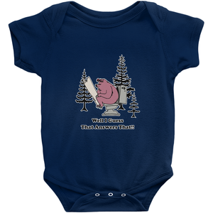 Well I guess that Answers That! Novelty Infant One-Piece Baby Bodysuit - CampWildRide.com