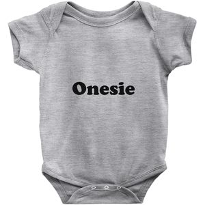 Generic Camping Onesie! Novelty Infant One-Piece Baby Bodysuit