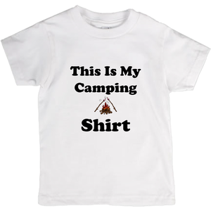 This IS My Camping Shirt! Novelty Short Sleeve Youth T-Shirt - CampWildRide.com