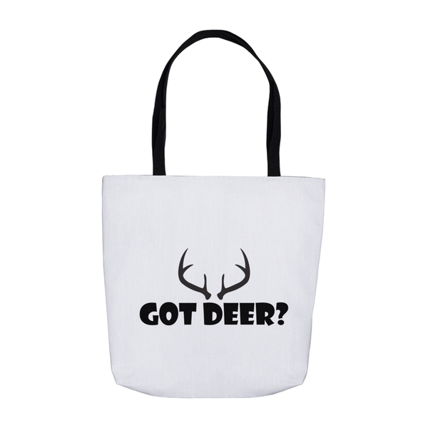 Got Deer? Nice Rack! Novelty Funny Tote Bag Reusable - CampWildRide.com