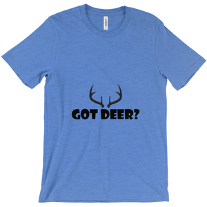 Got Deer? Nice Rack! Novelty Short Sleeve T-Shirt - CampWildRide.com