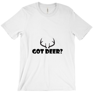 Got Deer? Nice Rack! Novelty Short Sleeve T-Shirt