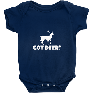 Got Deer? Stand Still! Novelty Infant One-Piece Baby Bodysuit - CampWildRide.com