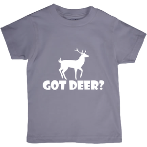 Got Deer? Stand Still! Novelty Short Sleeve Youth T-Shirt - CampWildRide.com