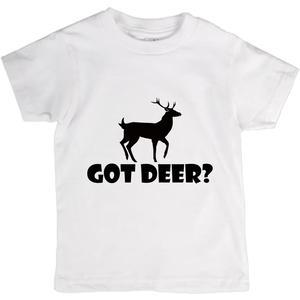 Got Deer? Stand Still! Novelty Short Sleeve Youth T-Shirt