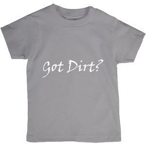 Got Dirt? Novelty Short Sleeve Youth T-Shirt - CampWildRide.com