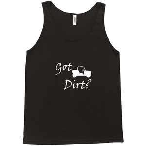 Got Dirt? Fun on a Side-by-Side! Novelty Tank Top T-Shirt - CampWildRide.com
